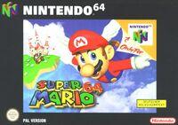 Verpackung Super Mario 64 (D)