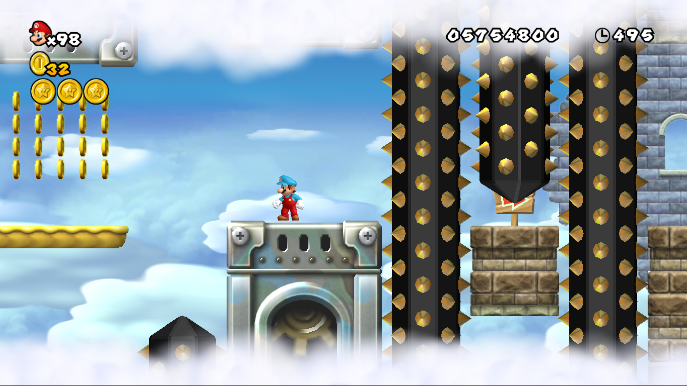 World 7 Castle New Super Mario Bros Wii Mariowiki Fandom