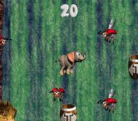DKC3 Screenshot Fässer-Gewässer