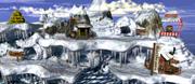 Gorilla Glacier - Overworld - Donkey Kong Country
