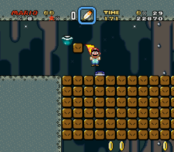 SMW Screenshot Vanille-Dom 2