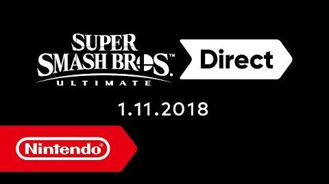 Super Smash Bros. Ultimate Direct – 01.11