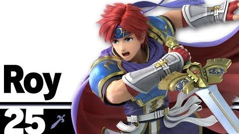 25 Roy – Super Smash Bros