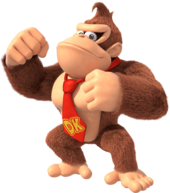 Art Donkey Kong Super Mario Party