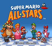 Super Mario All-Stars - Title Screen