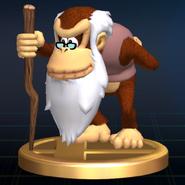 Cranky Kong Trophy - Super Smash Bros. Brawl