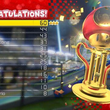 Trophy Mario Kart Series Mariowiki Fandom