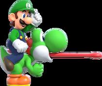 NSMBUDX-Luigi&Yoshi
