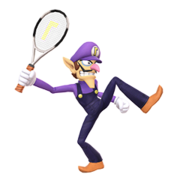 Waluigi Assist Trophy SSBU