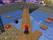 SM64DS Wet-Dry World Star 2