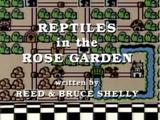 Serpents dans le jardin