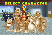 Character Select - Garage Theme - Diddy Kong Pilot (2001)
