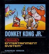 Donkey Kong Jr. NES EUR