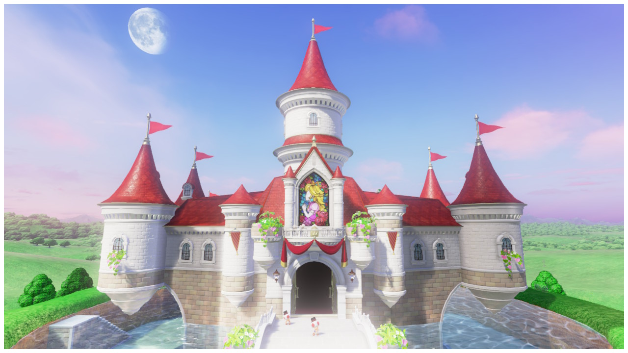 Un Chateau Dans Les Nuages château de peach   wiki mario   fandom