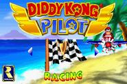 Main Menu - Diddy Kong Pilot (2001)