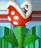 NSMBW Sprite Piranha-Pflanze