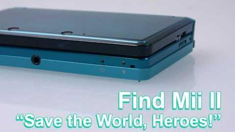 Find Mii II - Save the World, Heroes!