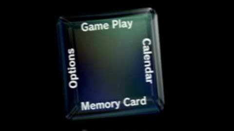 GameCube Main Menu (Sped up 16x)