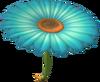 MKT Aile fleurie émeraude
