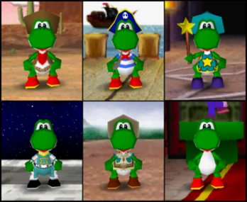 Yoshi Mario Party 2