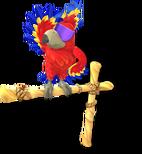 DKCTF Artwork Tawks der Papagei