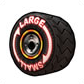 MKAGPDX Sprite Big Small Tires