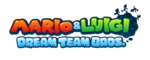 Mario & Luigi Dream Team Bros. EU logo