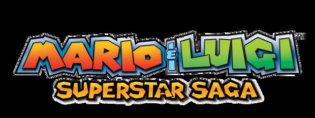 Archivo:Mario & Luigi Superstar Saga Logo.png