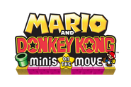 Mario and Donkey Kong Minis on the Move (Amerika-Logo)