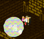 SMRPG Screenshot Light Beam
