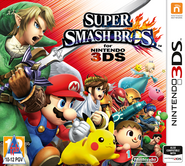 Super Smash Bros for Nintendo 3DS South Africa boxart
