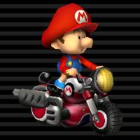 Mini-mob Bébé Mario