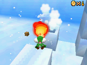 SM64DS Snowmans Land Star 3
