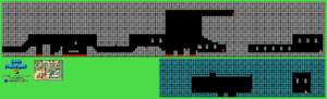 SMB3 World 1-Fortress NES level map