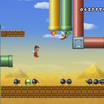 World 9 4 New Super Mario Bros Wii Mariowiki Fandom
