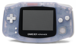 Game Boy Advance - Transparent Purple Model