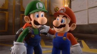 Luigi's Mansion 3 - Luigi Saves Mario Cutscene