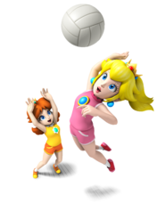 Mario Sports Mix - Peach and Daisy