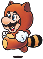 Tanooki Mario Artwork - Super Mario Bros. 3