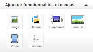 AjoutFonctionnalitésMédias