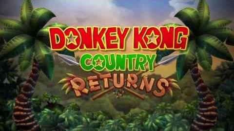 Donkey Kong Country Returns trailer Nintendo Wii