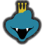 Icône King K. Rool bleu Ultimate