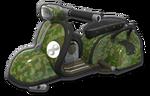Corps Scooter vert