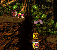 DKC2 Screenshot Klobber-Chaos 3
