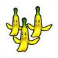 MKAGPDX Sprite 3x Bananenschalen