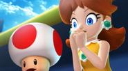 Mario Sluggers - Daisy & Toad