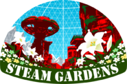 Seam Gardens Sticker