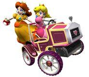 MKDD Artwork Peach & Daisy