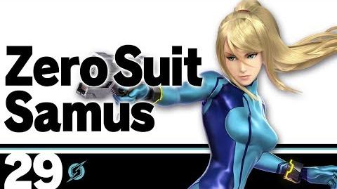 29 Zero Suit Samus – Super Smash Bros