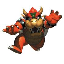 Art Bowser Mario 64 5
